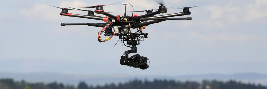 rilievi aerei droni